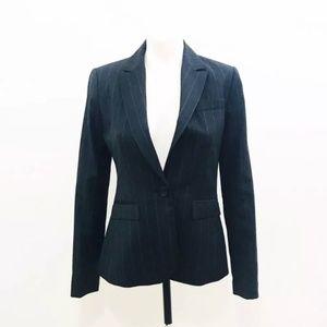 J. Crew Factory Blazer Sz 0 Pinstripe Jacket